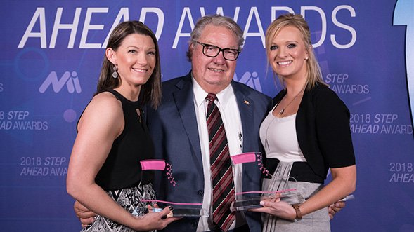 STEP Ahead Awards Recognize Two Ashley Furniture Employees for Excellence in Manufacturing
