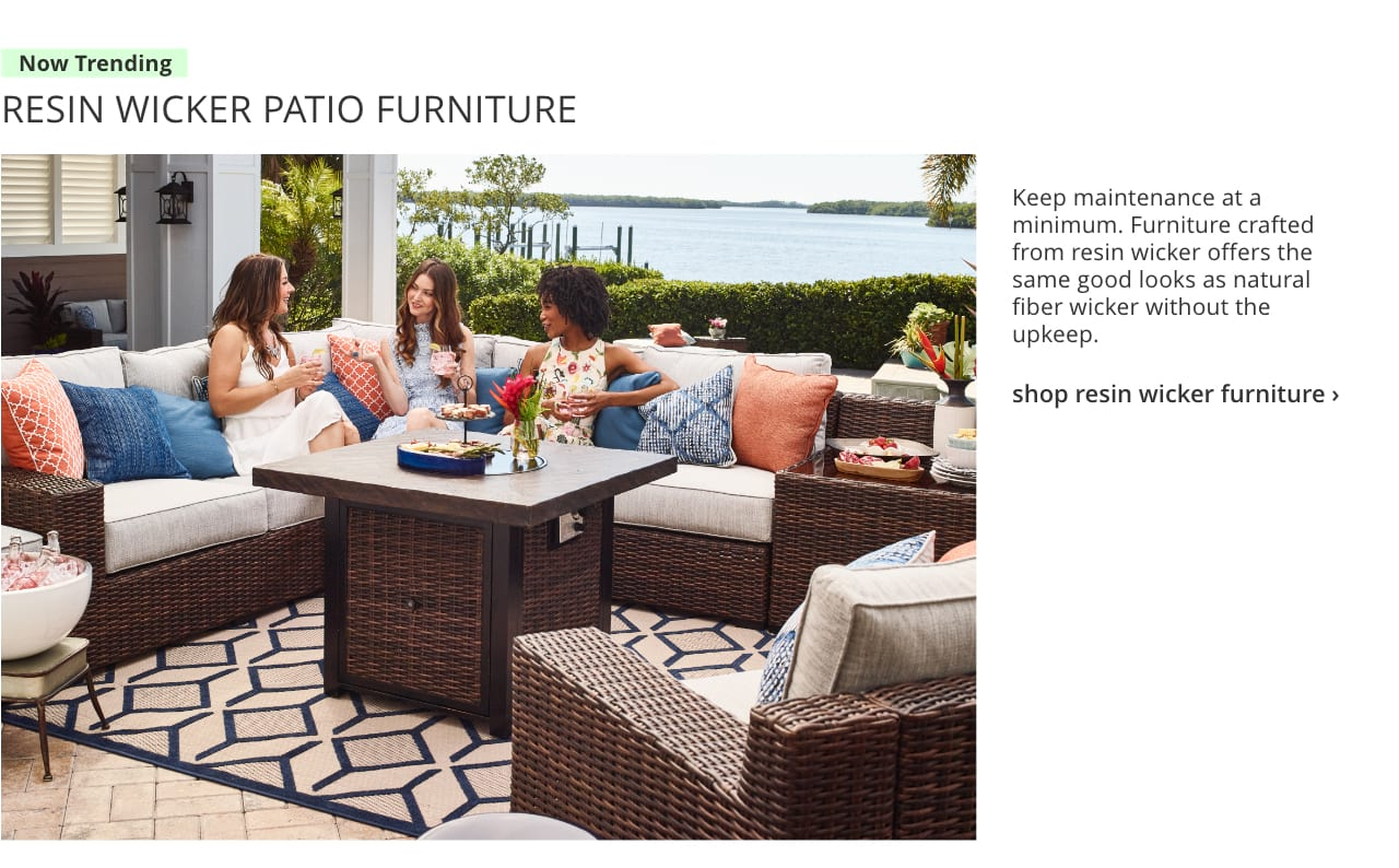 Discover amazing prices from our Outdoor Furniture Deals sure to complete your Patio for a low cost. Ashley Furniture HomeStore has Free Shipping on main items!