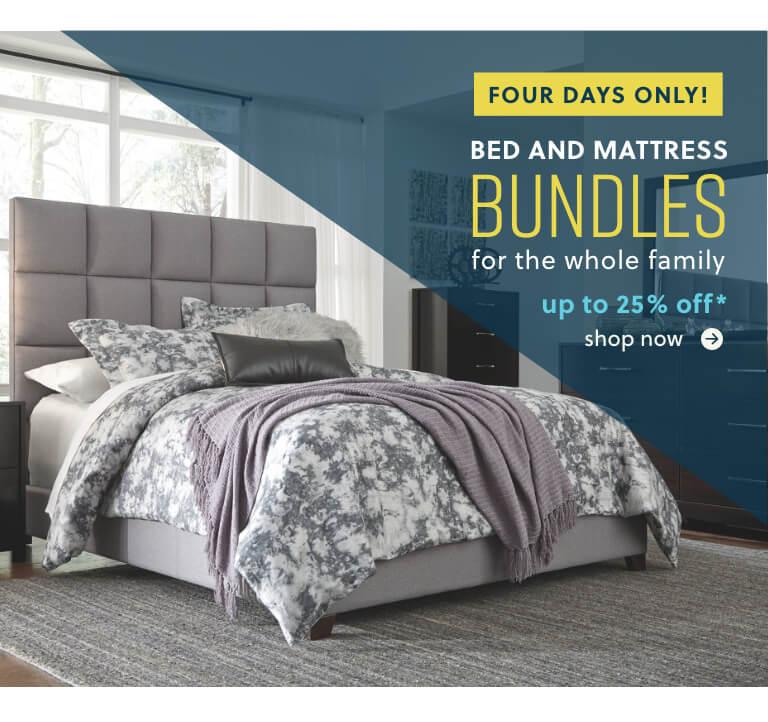 Bed and Mattress Bundles