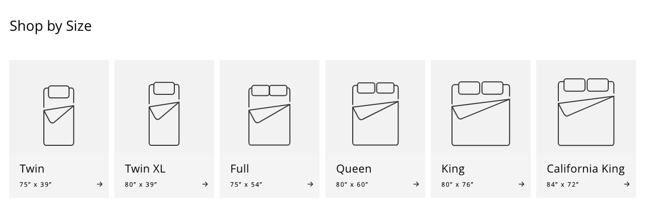 Twin Mattress, Twin XL Mattress, Full Mattress, Queen Mattress, King Mattress, California King Mattress