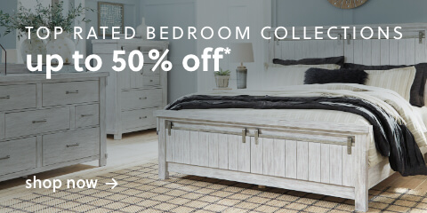 Two 5 Star Bedroom Collections Up to 50% Off* (featuring the Lakeleigh and The Brashland)