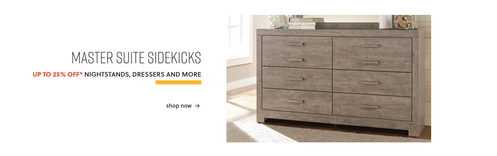 Nightstands, Dressers, and More