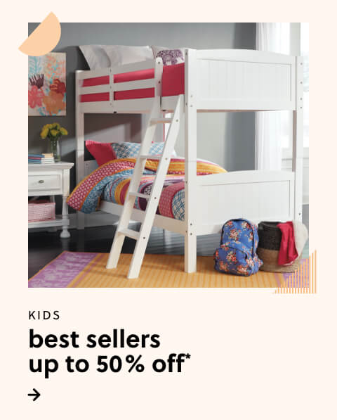 Kids Best Sellers up to 50% Off*