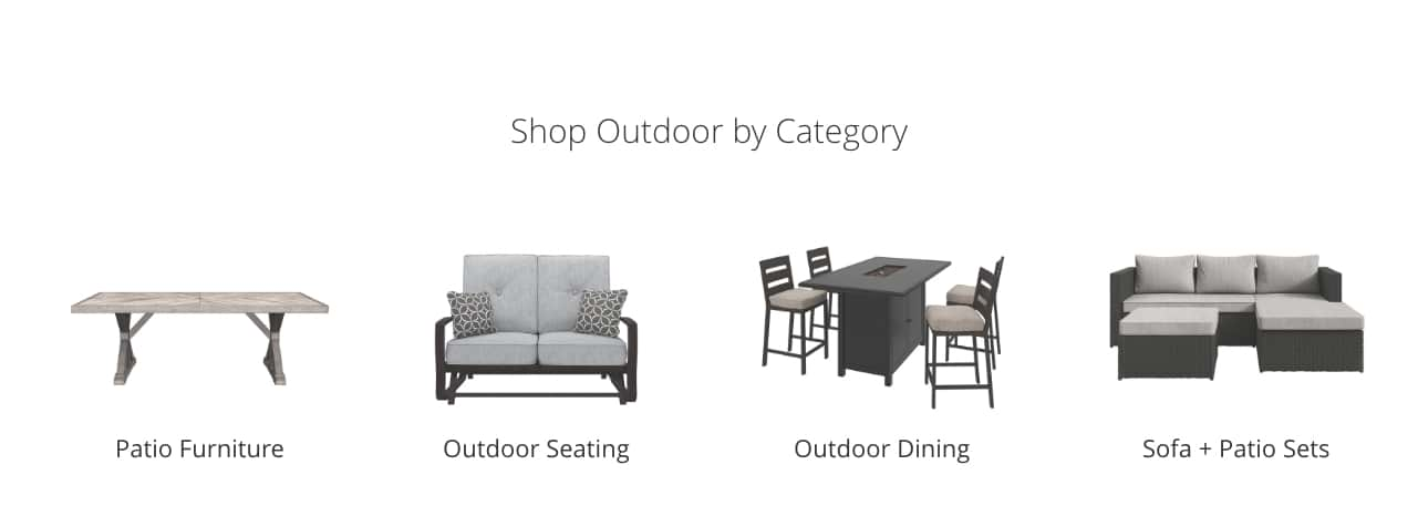 Outdoor Furniture & Accessories | Ashley Furniture HomeStore