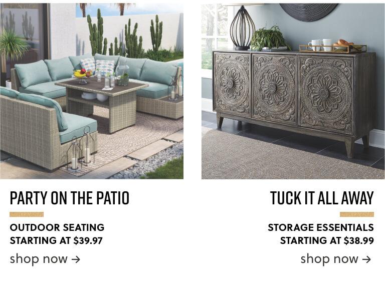 Outdoor Patio Seating Storage Essentials