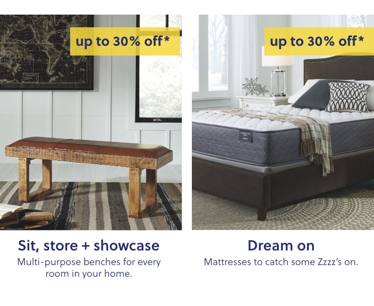 Benches for Home, Mattresses