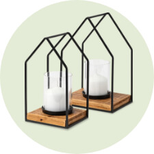 Lanterns & Candleholders