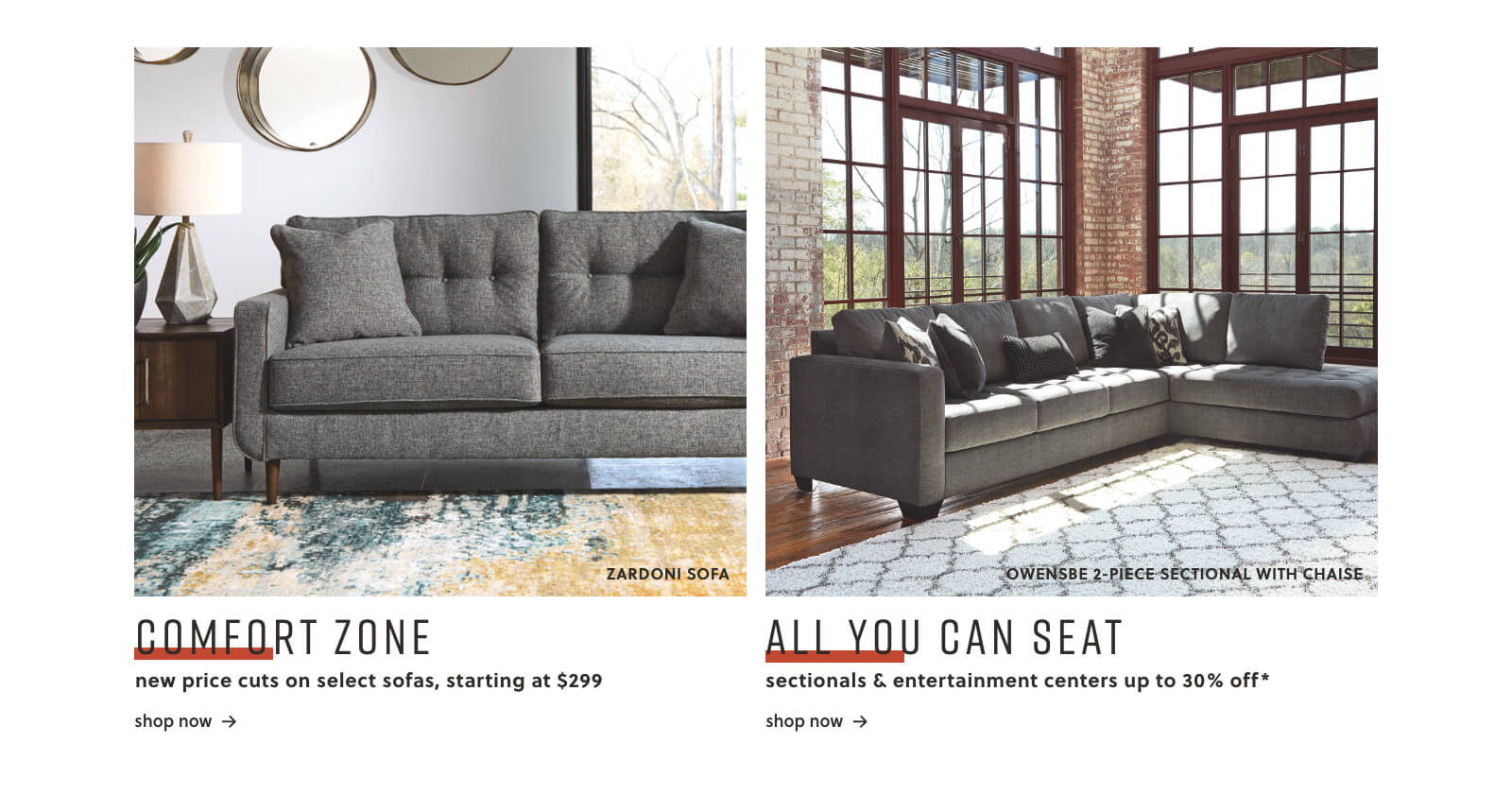 Ashley Furniture HomeStore | Home Furniture & Decor | Ashley HomeStore