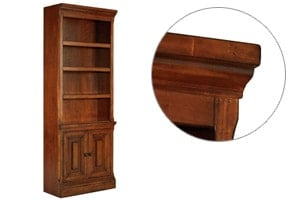 Gaylon Bookcase - Cyma Curve