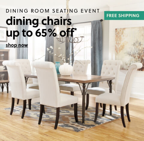 Dining Room Seating Event- DINING CHAIRS up to 65% off + Free Shipping