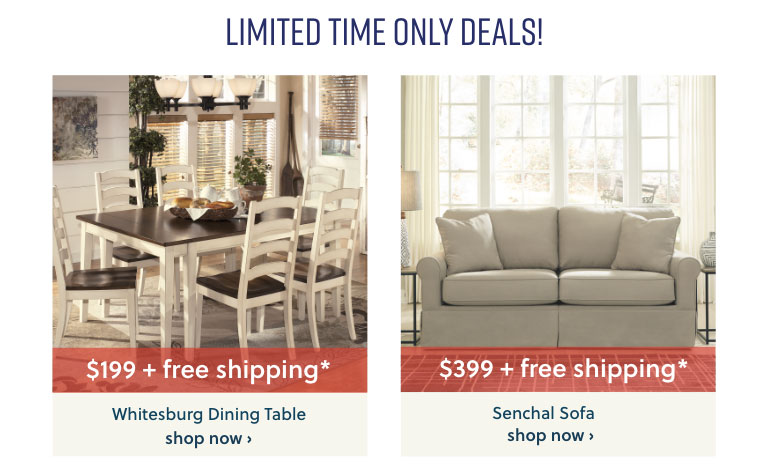Limited Time Only Deals! $245 and under