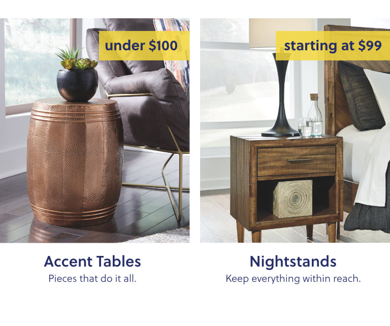 Accent Tables, Nightstands