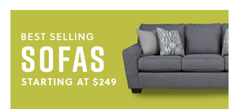 Best Selling Sofas Starting at $249