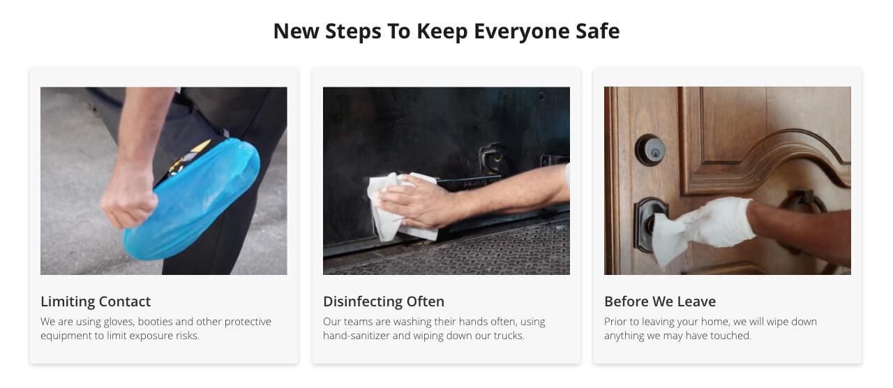Next Steps to Keep Everyone Safe