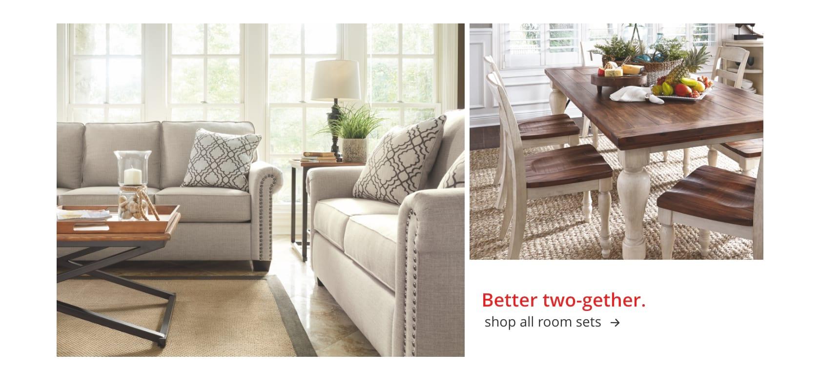 ashley furniture homestore  home furniture  decor - shop room sets