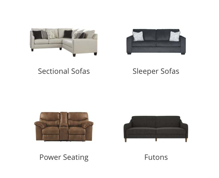Sectional Sofas, Sleeper Sofas, Power Seating, Futons