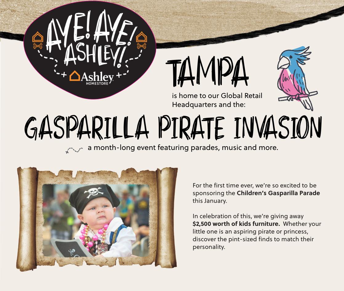 Gasparilla Kids Parade Sweepstakes