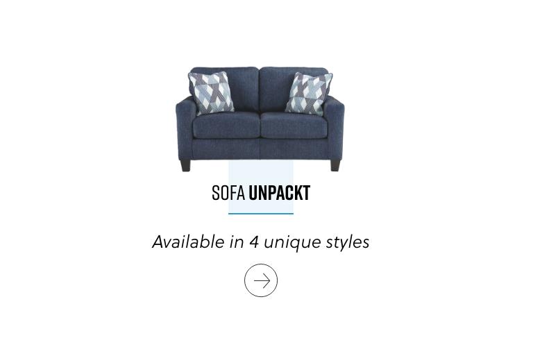 Sofa Unpackt