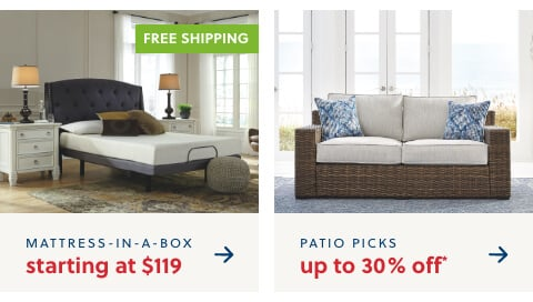 Our Best Mattress at our Best Price! Shop the MIAB S/A $119 + Free Shipping,Outdoor Preview Prep your space for warmer days ahead Up to 30% Off