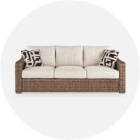 Outdoor Sofas + Loveseats