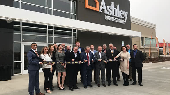 Ashley HomeStore Opens New Store in Oklahoma City