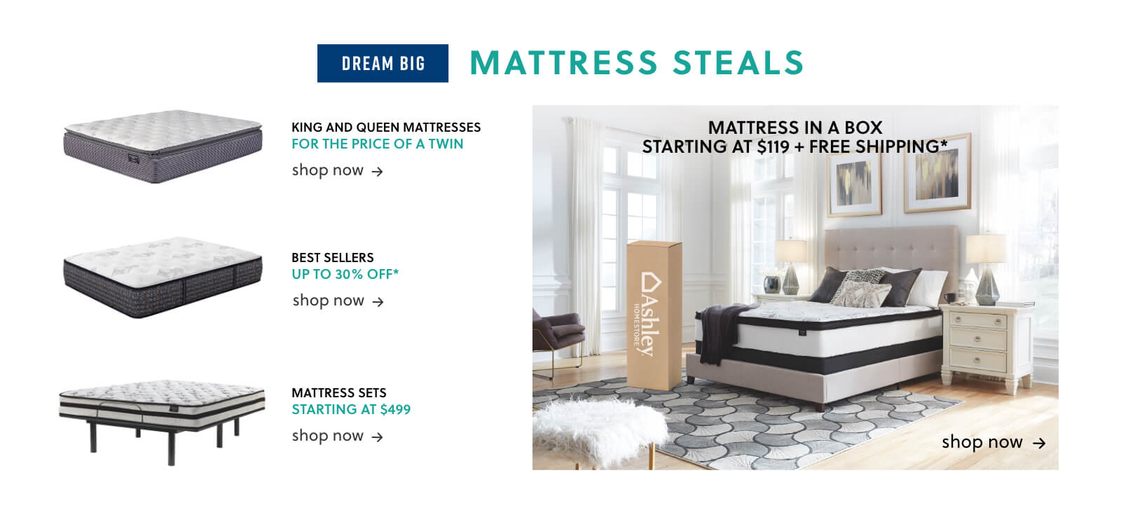 King and Queen Mattresses, Best Selling Mattresses, Mattresses Sets, Mattress in a Box