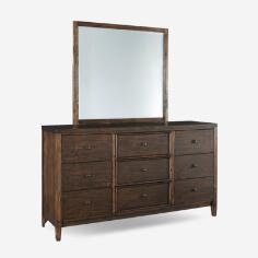 Kisper Dresser & Mirror