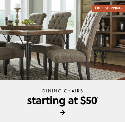 Dining Chairs starting at $50 + Free Shipping