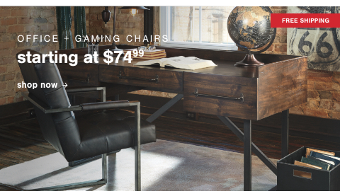 Office & Gaming Chairs S/A $74.99