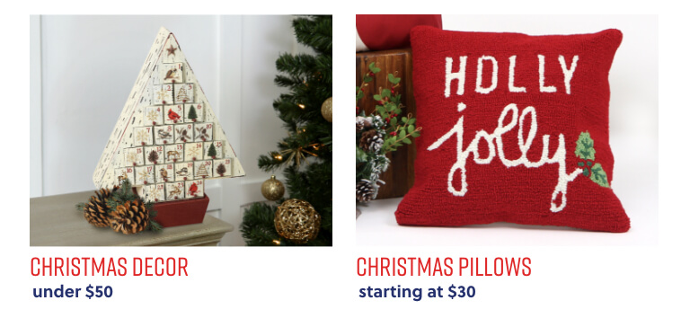 Christmas Decor under $50,Christmas Pillows