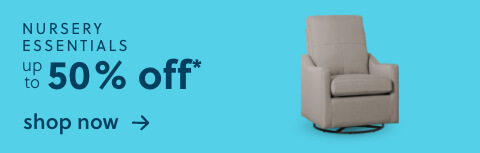 Nursery Essentials Up to 50% Off* + Free Delivery (SS Version Olny)