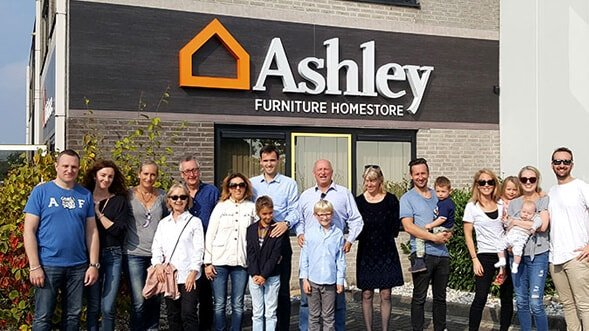 Find out about the latest events, charities, and press releases by visiting the Ashley HomeStore Newsroom.