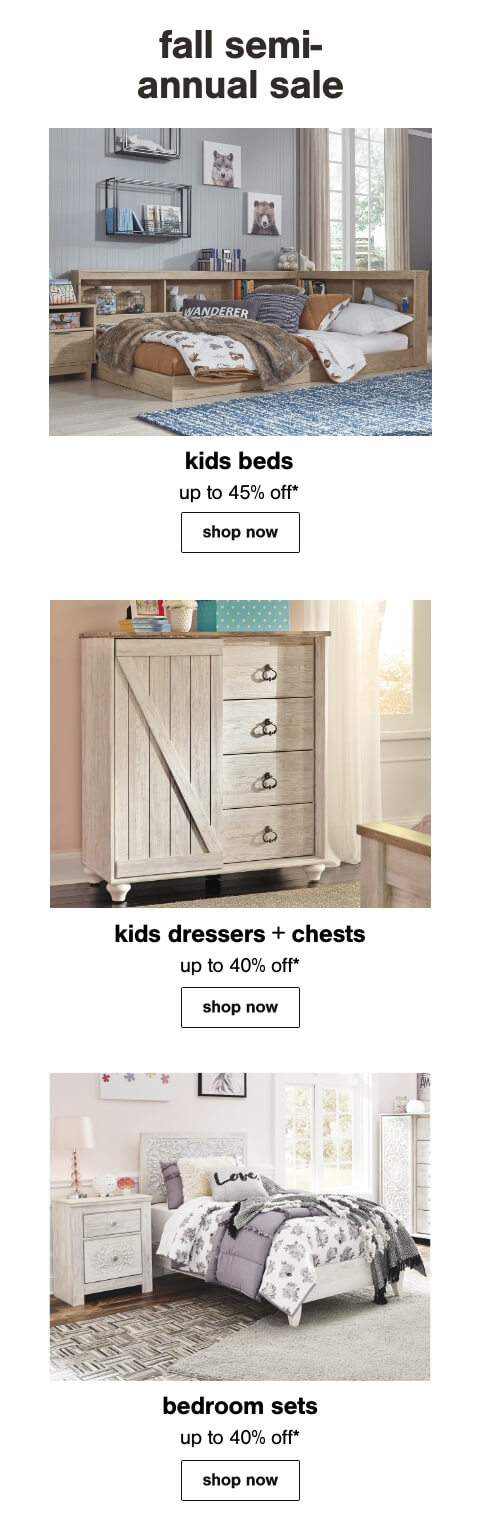 Bunk and Loft Beds, Kids Seating, Nightstands
