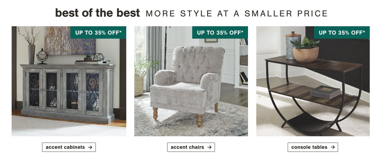 Accent Furniture, Accent Chairs, Accent Tables