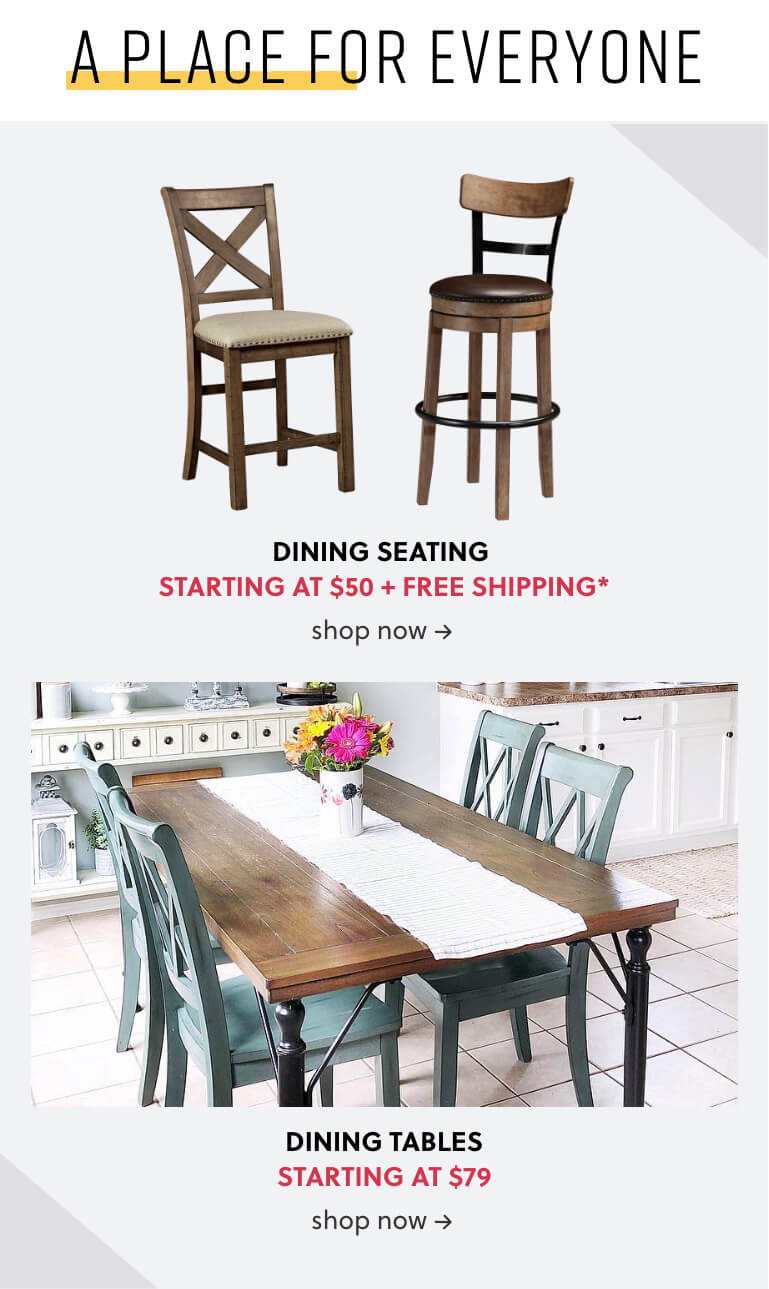 Dining Seats, Dining Tables