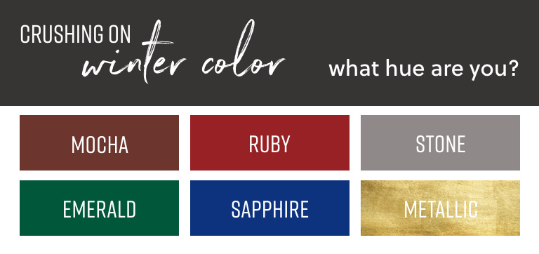 Crushing on Fall color | What hue are you