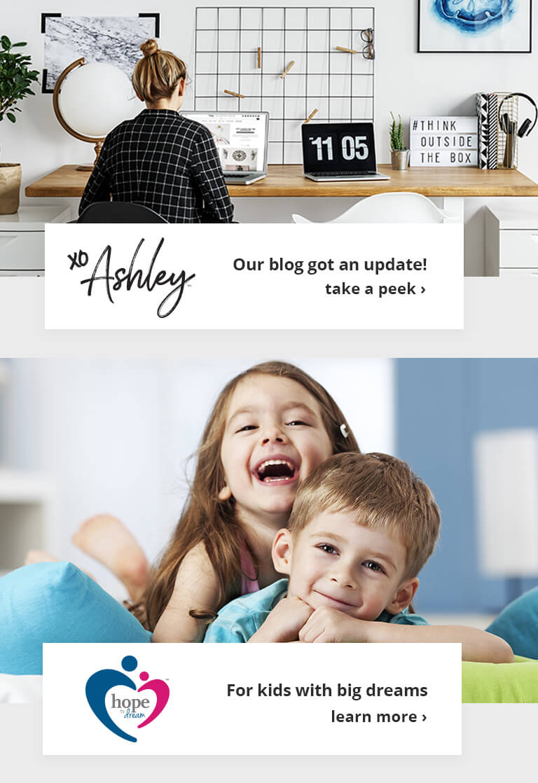 Ashley Furniture HomeStore Blog and Hope to Dream