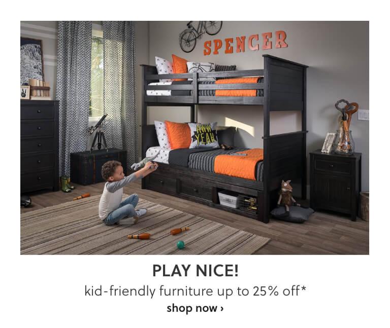 Kid Friendly Furniture