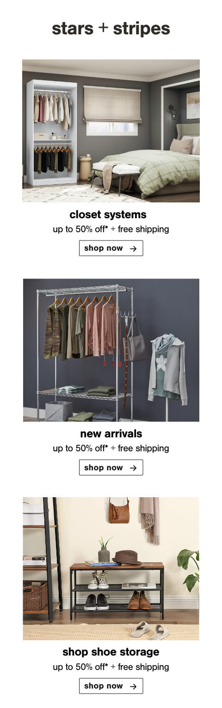 Closet Systems, New Closet, Closet Price Cuts