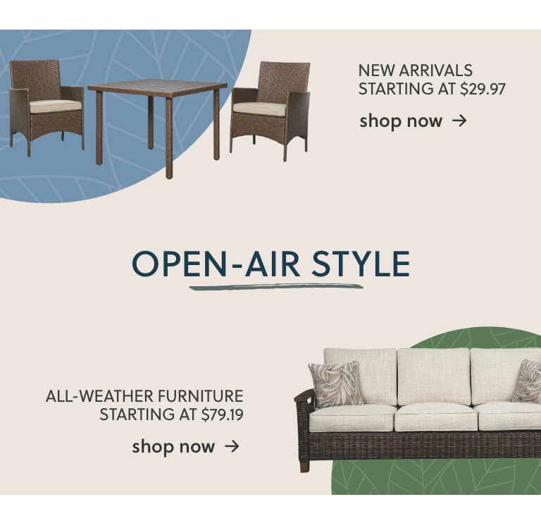 New Outdoor Furniture, All Weather Outdoor Furniture
