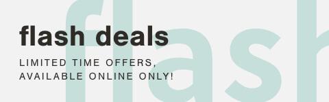 Weekend Flash Deals