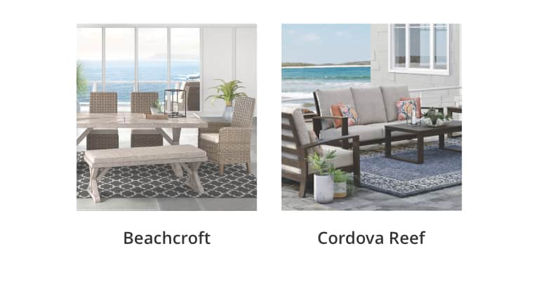 Outdoor Look, Beachcroft, Cordova Reef