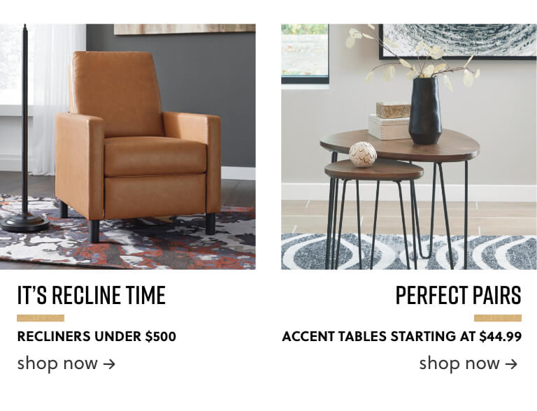 Recliners Under 500 Accent Tables