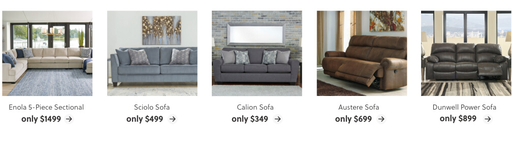 Deals on Sectionals and Sofas
