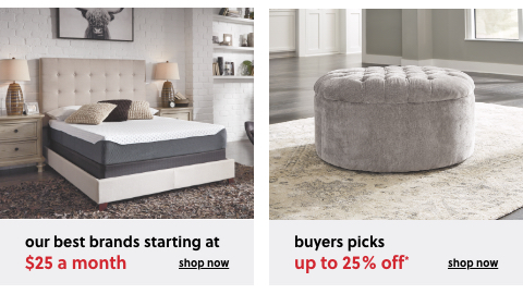 Get more mattress without the added expense, all sizes on sale, Buyers Pick up to 25% Off