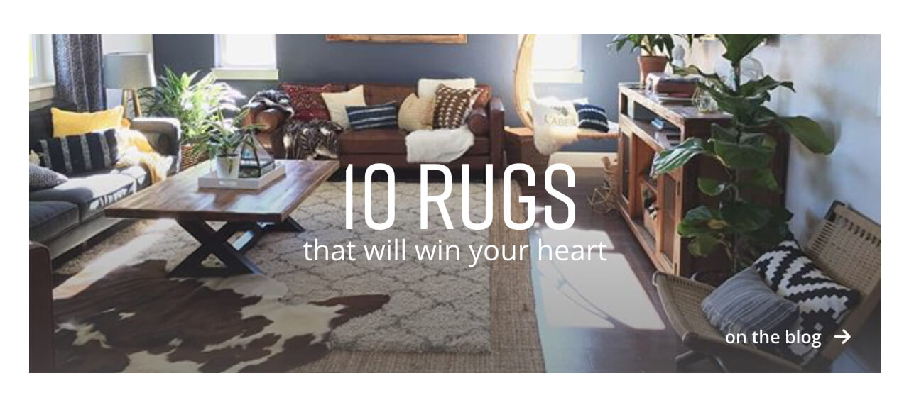 10 Rugs that will win your heart