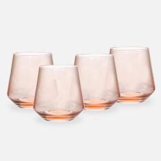 Bloomingville Blush Set of 4 Glasses