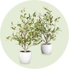 Faux Flowers & Plants