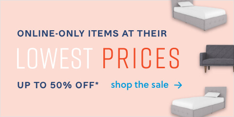 Online-only items at their lowest prices.