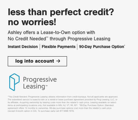 Genesis Credit and Progressive Leasing